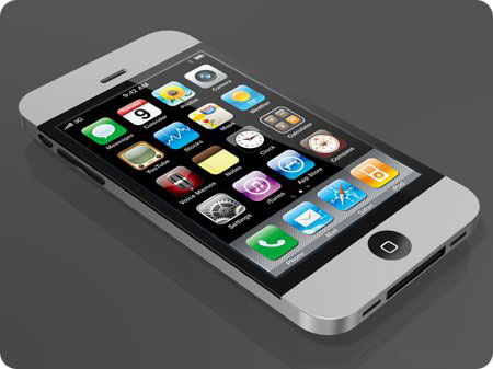 The concept of the iPhone 4