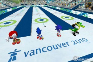 Sonic at the Olympic Winter Games