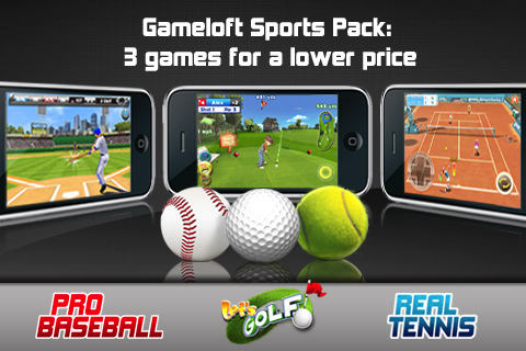 Gameloft Sports Pack