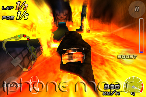 Raging Thunder 2 for iPhone