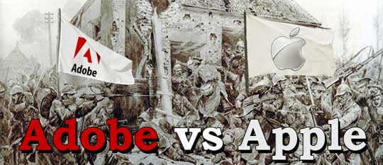 Apple said Adobe