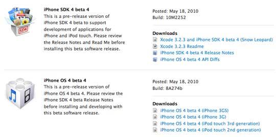 Chto skryvaet iPhone OS 4.0 beta 4
