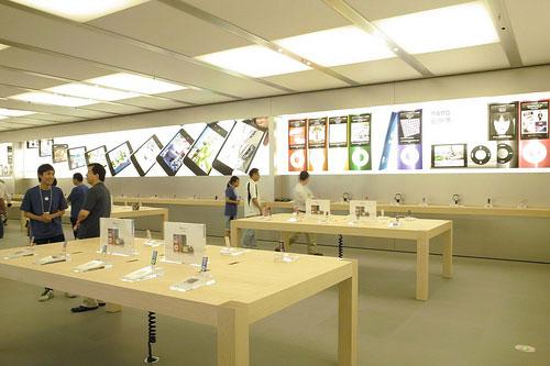 Otkrytie Apple Store v Shanhae: Odnogo iz luchshih v mire!