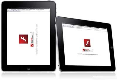 Ustanovka Flash na iPad