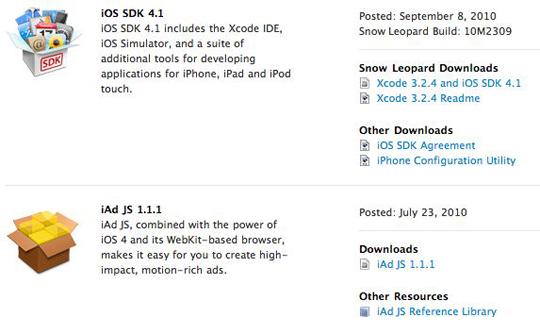 SDK 4.1