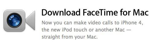 Apple выпустила FaceTime бета версию для Mac