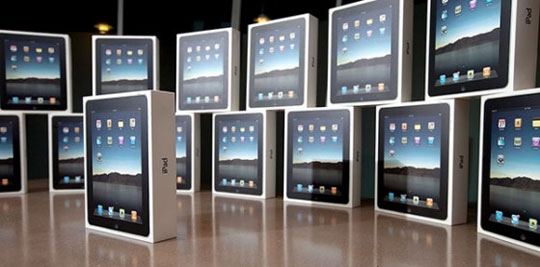Otgruzki iPad v Rossiyu nachalis
