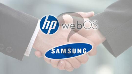 Samsung может купить webOS у Hewlett-Packard