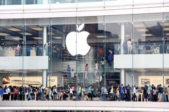 V Shanhae otkrylsya Apple Store