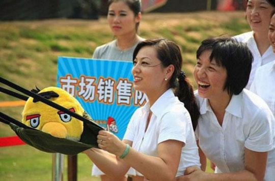 Kitaitsy « ozhivili » Angry Birds