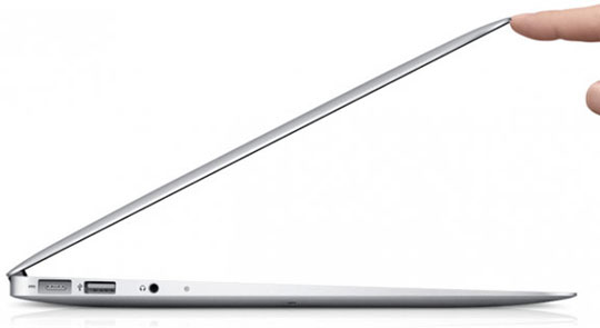 Apple testiruet ultra-tonkie Macbook