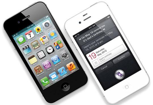 iPhone 4S samyi proizvoditelnyi telefon v mire