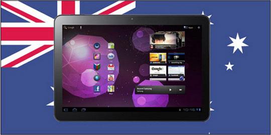 Apple dobilas zapreta prodazh Samsung Galaxy Tab 10.1 v Avstralii