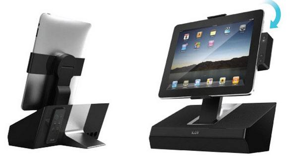 Stilnaya podstavka - dok dlya iPad/iPhone