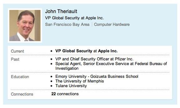John Theriault uvolilsya iz Apple