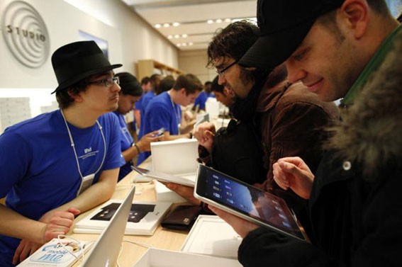 Apple i rekordy nerazdelimy