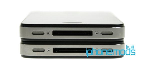 iPhone 4S и iPhone 4 – нижняя грань